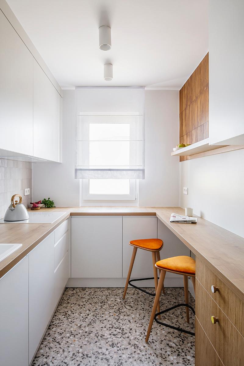 Stylowa I Praktyczna Kuchnia W Bloku Poradnik Internity Home Small Kitchen Design Apartment Tiny Kitchen Design Kitchen Design Small
