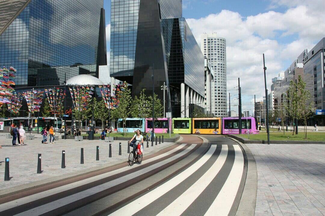 Rotterdam centrum De foto is van Paul Optenkamp | Csodás helyek ...