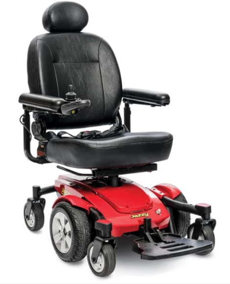 Pride Jazzy Select 6 Power Chair Jselect6 With Images Pride Mobility Powered Wheelchair