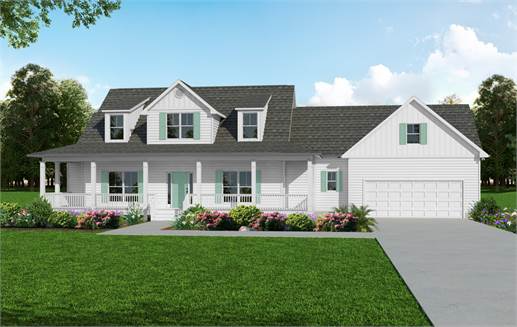 Americas Home Place The Stanton III 3BR A Plan