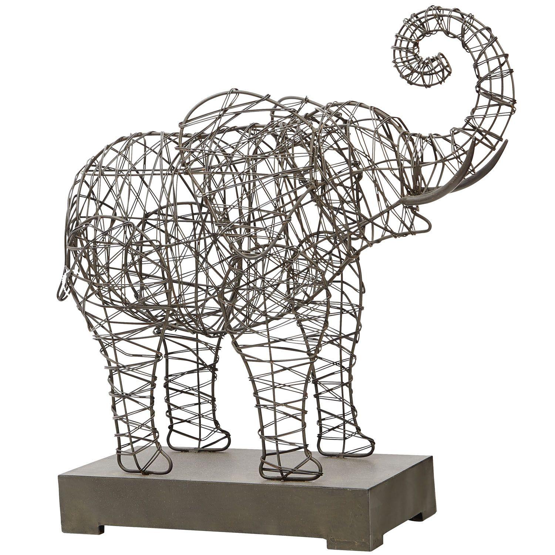 Wire Elephant Sculpture 3d Center 1952 Ford Pickup F1 F2 F3 V8 Cowl Loom Wiring Harness Ebay Woven Artwork U003e Sculptures Statues Rh Pinterest Com Easy Ideas Unique