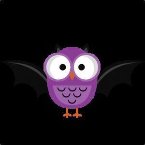Purple Halloween Bat (freebie)