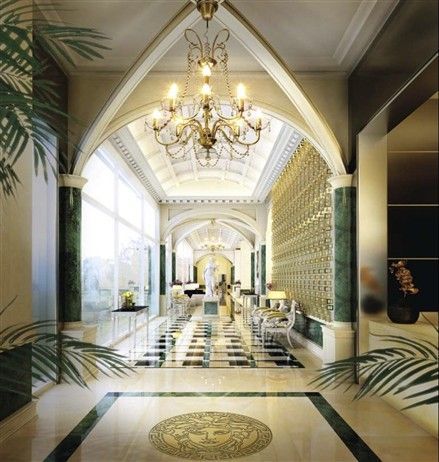 Interior design by VERSACE HOME for DAMAC TOWER, a new high rise luxury tower opening in downtown Beirut in 2013.