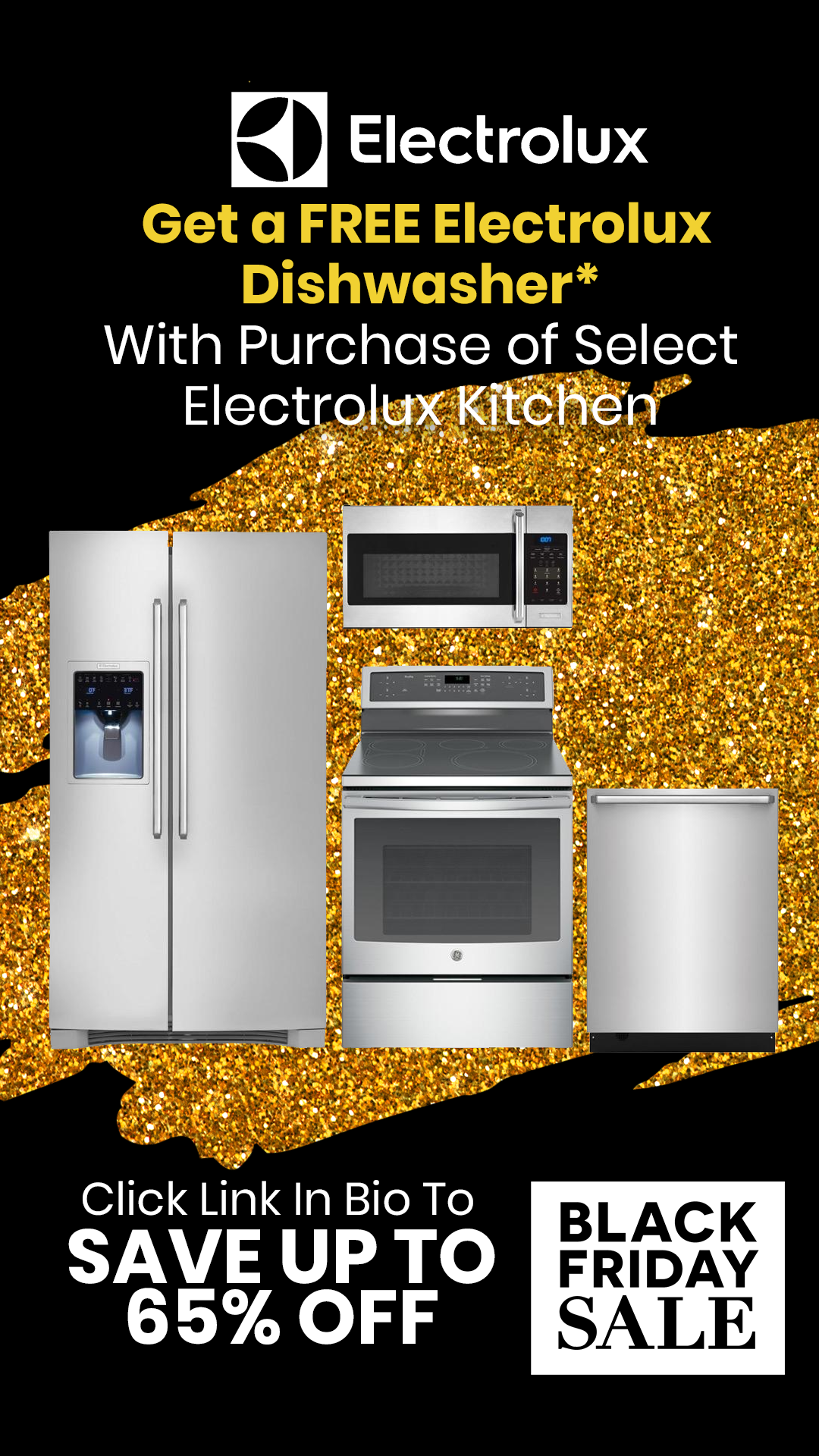 Appliances Packages Sale Get A Free Electrolux Dishwasher With Purchase Of Select