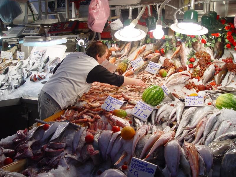 Fish Market In Greece Greece Athens Greece Athens