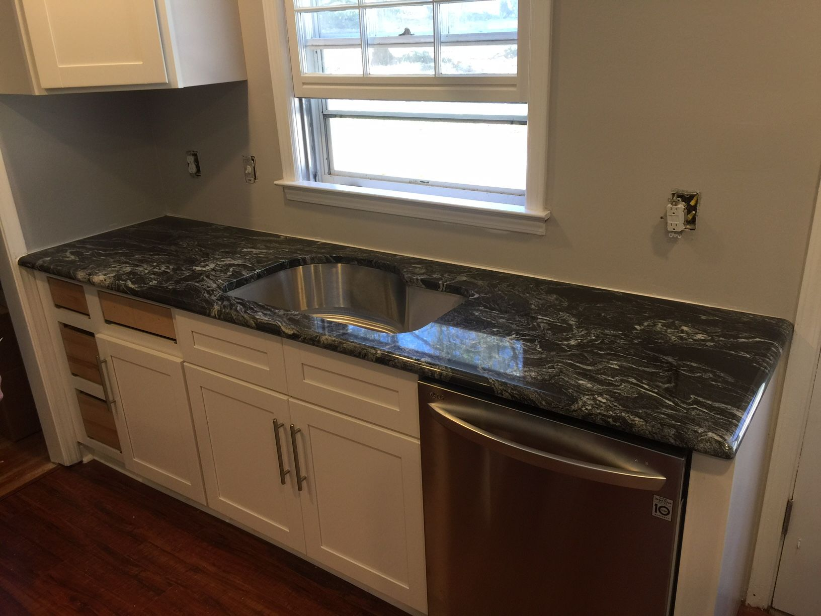 Beautiful Black Magic Installation By Our Team At Aa Granite