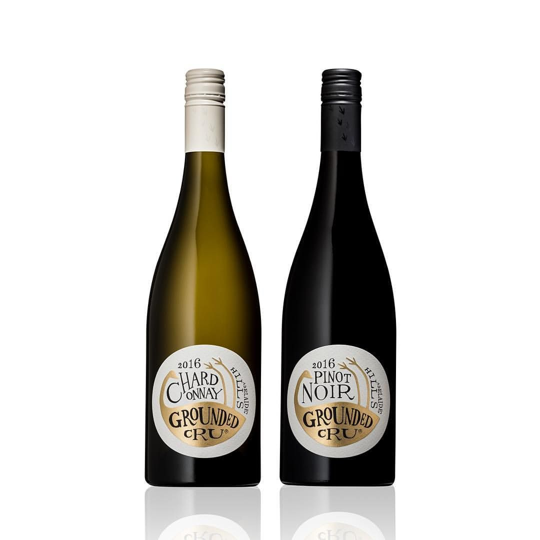 Introducing The Groundedcru Inc Range Of Wines Our Packaging Solution Features The Iconic Emu Finished In Gold Fo Wine Design Wine And Beer Wine Label Design