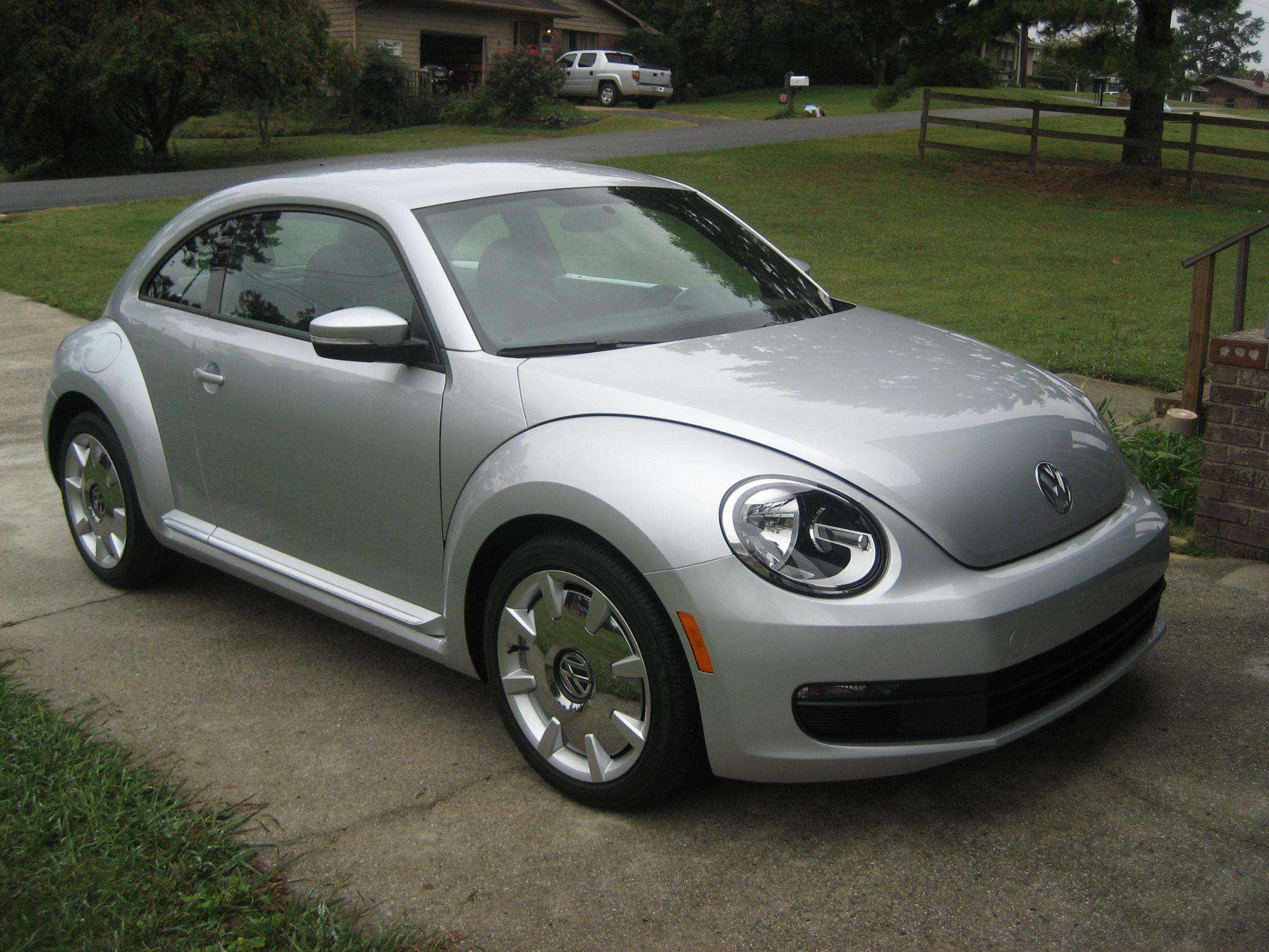 my new 2012 VW Beetle