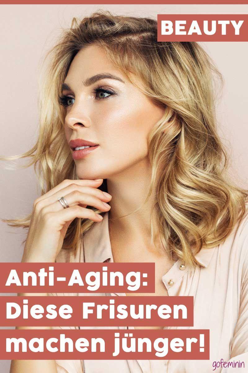 Anti Aging Fur Die Haare Diese Frisuren Machen Junger Frisur Ab 40 Naturliche Hautpflege Gesicht