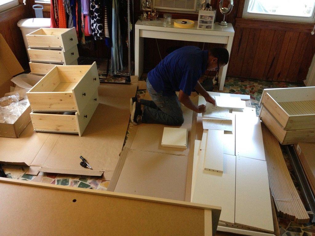 Hemnes 8 Drawer Dresser Assembly Ikea Hemnes Dresser Ikea Furniture Hemnes