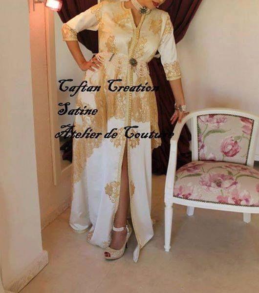 Caftan Création Satine Atelier de couture Satine Alger, Algérie