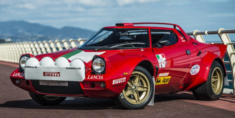 1987 competition-spec Group 4 Stratos Stradale