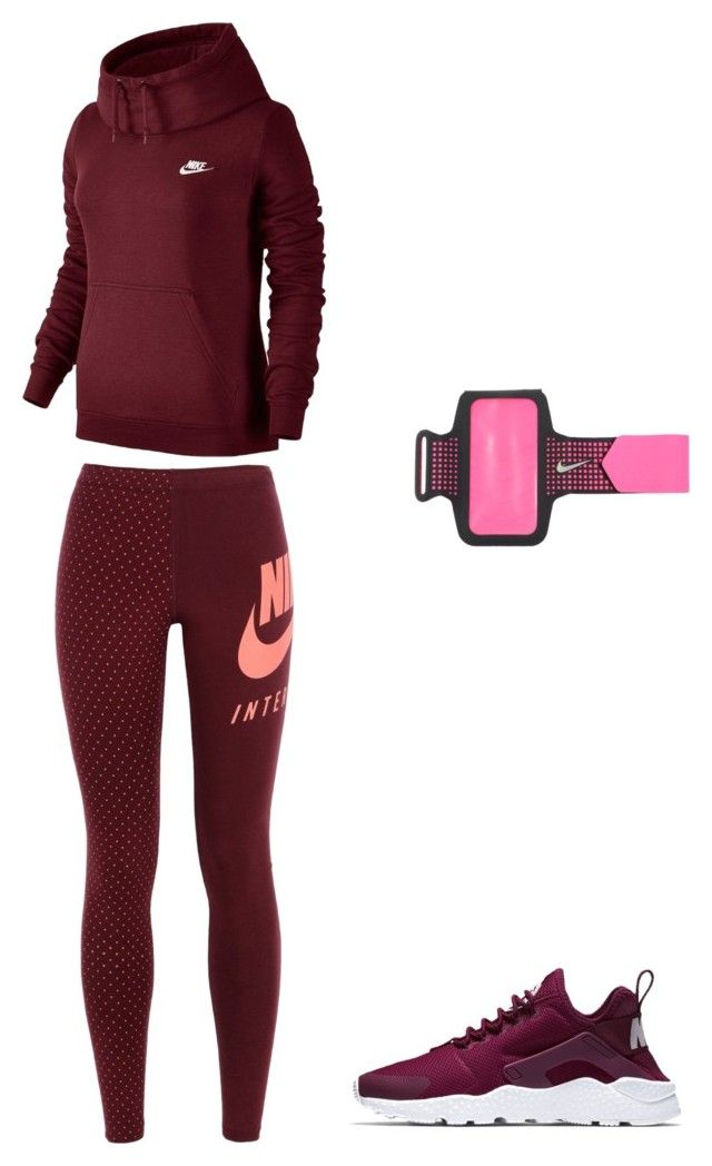 """""""sporty"""" by jennyestrella on Polyvore featuring NIKE"""