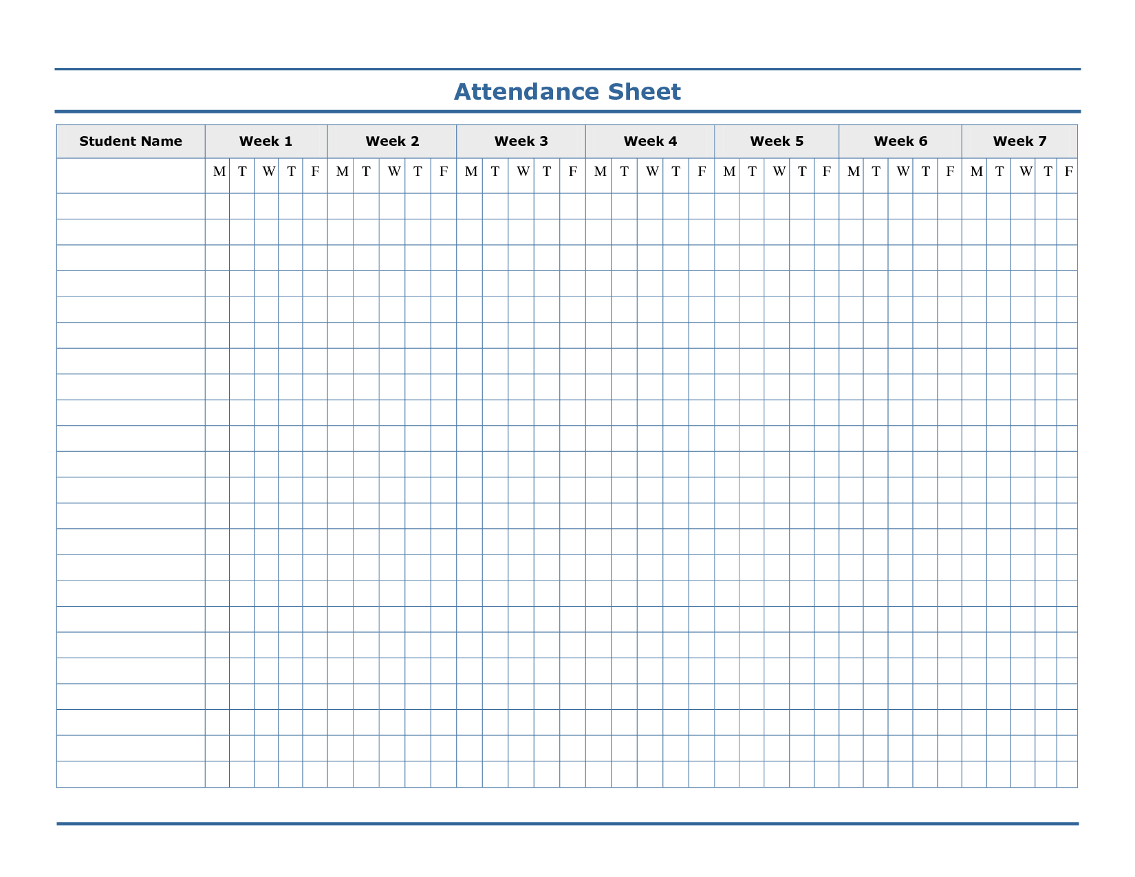 Attendance Template Free  Google Search  Ideas For Kids Jiu