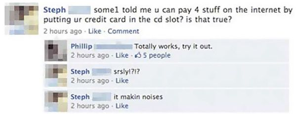 Of The Worst Facebook Fails Ever