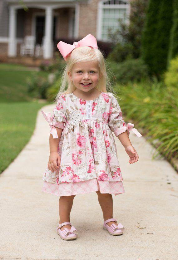 bb7e875c2 Little Girls Dress - Baby Girl Dress - Toddler Girl Dress - Fall ...