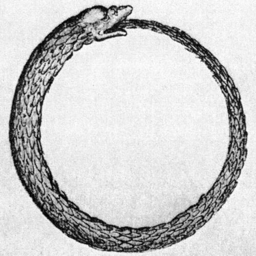 Ouroboros Ouro From The Greek Meaning Tail And Boros Meaning