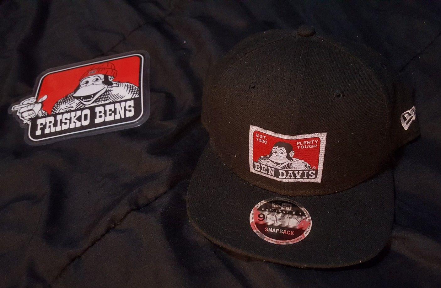 Custom Ben Davis New Era Snapback hat  1ecb15164ba