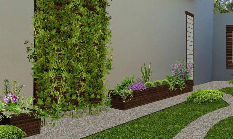 Pin de paola lopez cervantes en jardines nueva casa for Ideas para jardines pequenos de casa