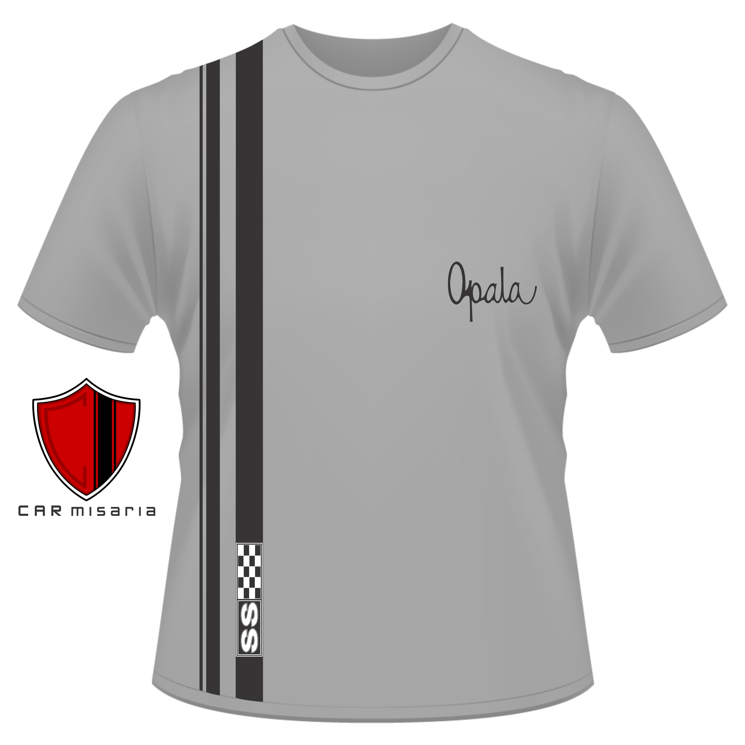 Camiseta Opala SS 1970 à 1973