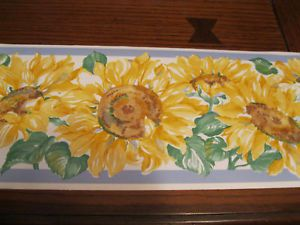 Sunflower Border Wallpaper   Sunflower Wallpaper Border Kitchen    Www.high Definition Wallpaper