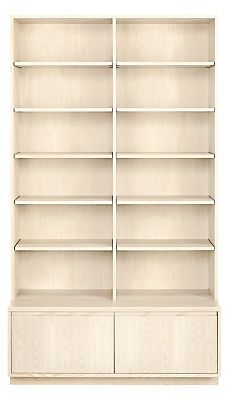 Elegant Keaton Bookcase With File Drawers   Modern Bookcases U0026 Shelves   Modern  Office Furniture   Room U0026 Board