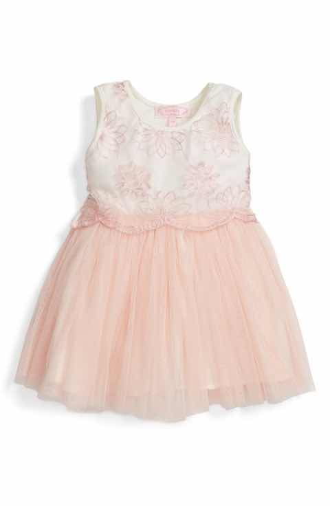 c96d60020 Popatu Embroidered Tulle Dress (Baby Girls) | Flower girl dresses ...