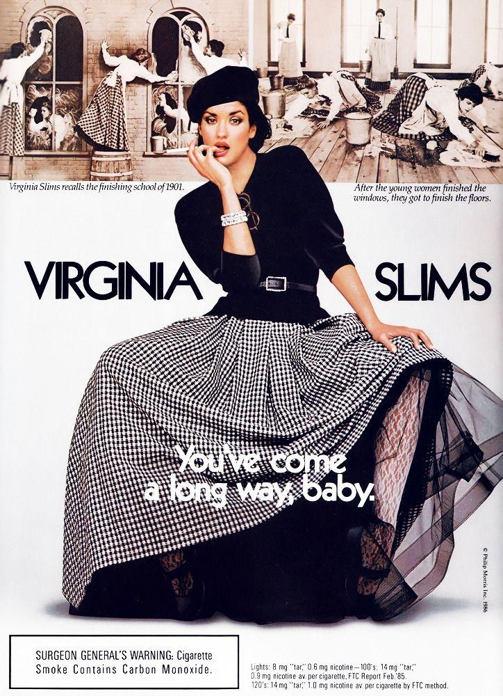 Pin On Virginia Slims Ads