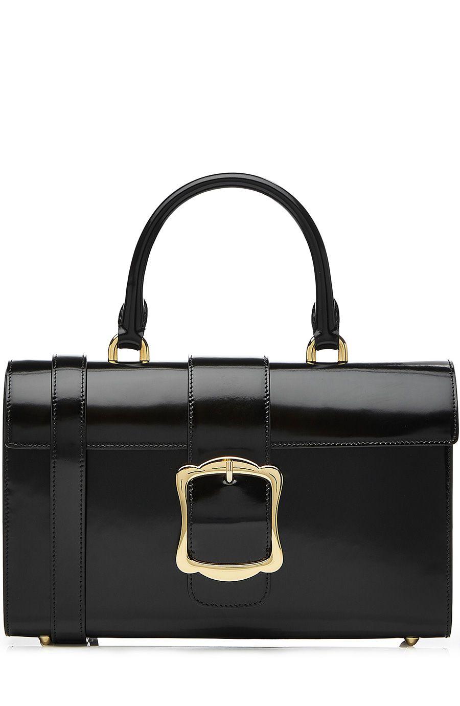 Simone Rocha Patent Leather Shoulder Bag Simonerocha Bags Hand