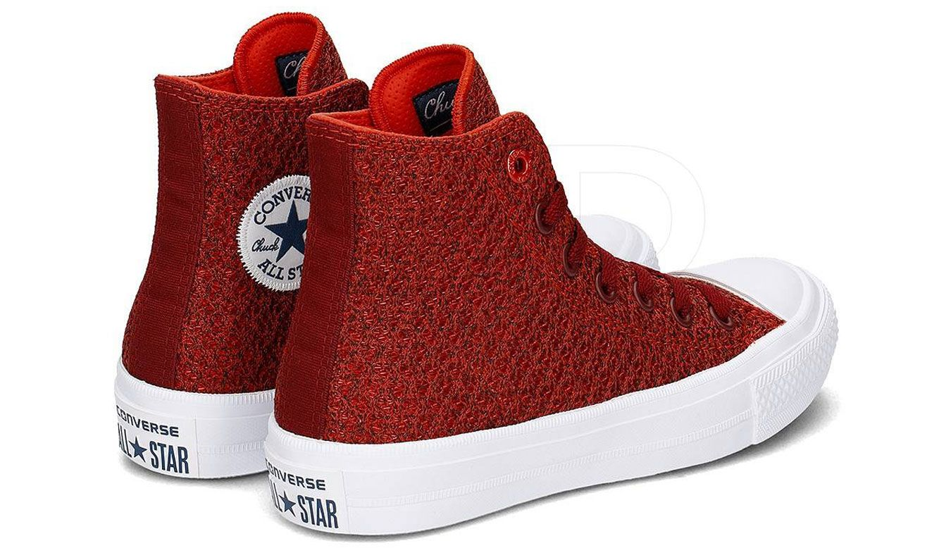 Converse Chuck Taylor All Star II Spacer Mesh High Top Signal Red ... 4edca15bbff