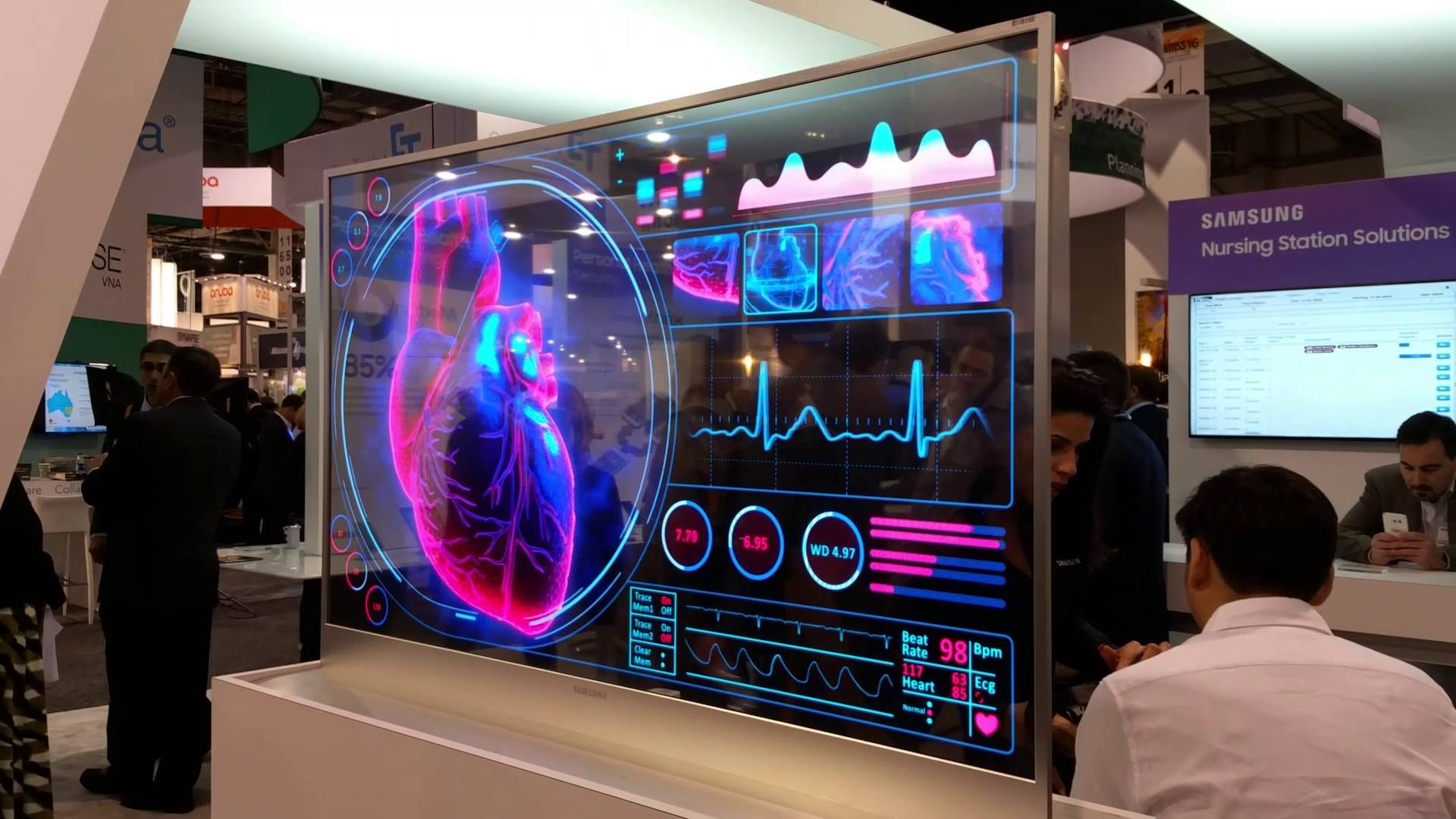 Image Result For Samsung Transpa Tv Screen Display Technologies Future Office Dashboard