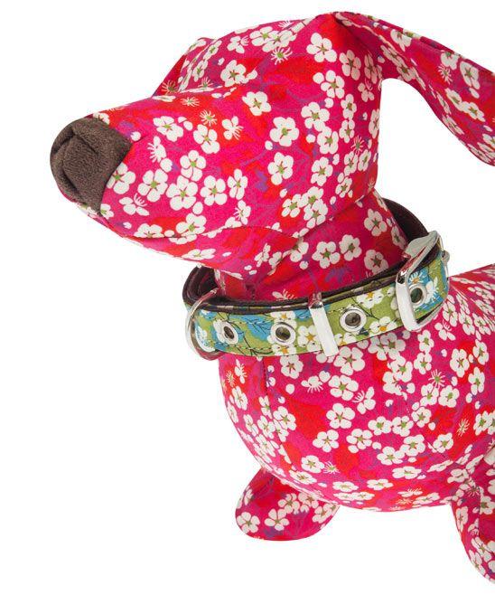 Extra-Large Green Liberty Print Dog Collar LIBERTY of LONDON
