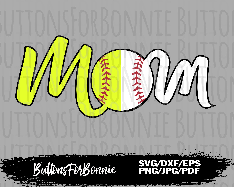 softball mom cricut sports silhouette softball shirt iron on softball svg cut file softball mom svg mom shirt softball shirt svg