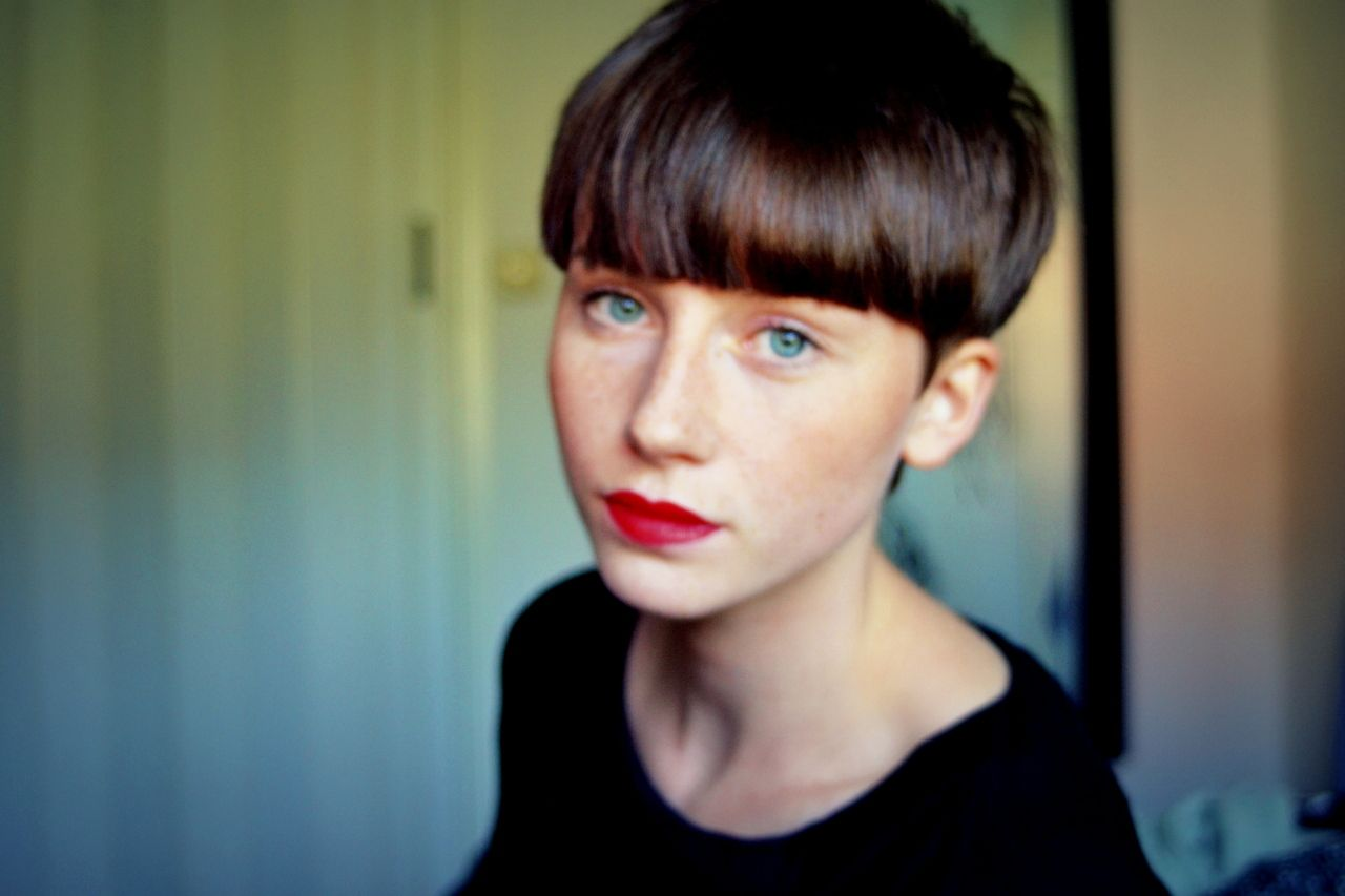 Hard Fringe #shorthair #haircuts #hairstyle