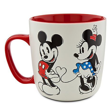 The other side of the Mickey and Minnie Mouse Mug ...