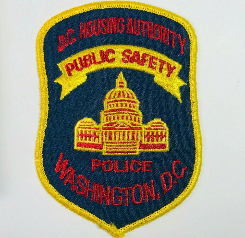 Washington Dc Housing Authority Police Public Safety Patch V 2020 G