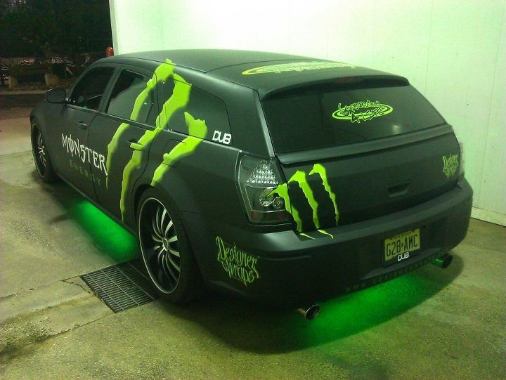 Revved Up Designer Wraps Designs Prints And Installs Monster