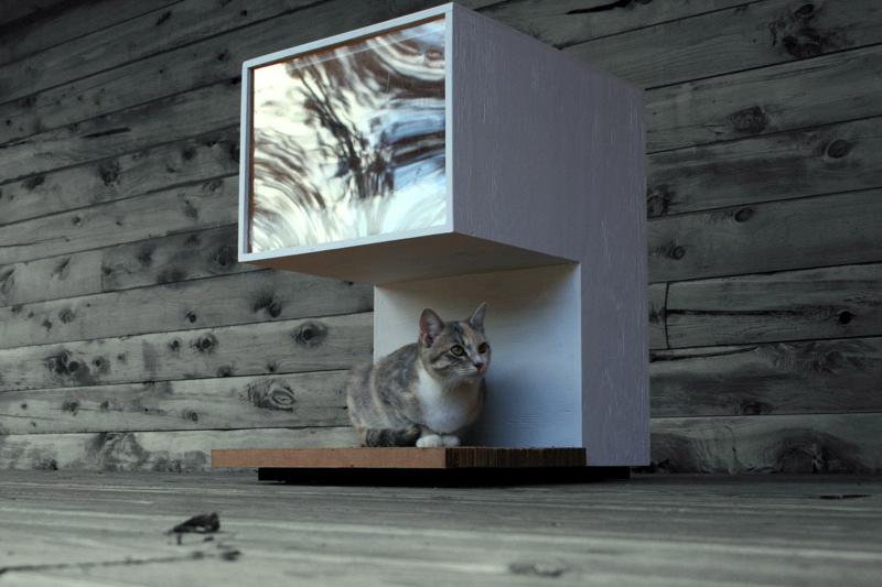 Leo Kempf Modern Cat House Cat House Diy Feral Cat House