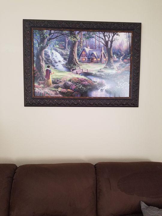 SNOW WHITE and the seven dwarfs - Tracy's Art Corner - Paintings & Prints…   ArtPal thumbnail