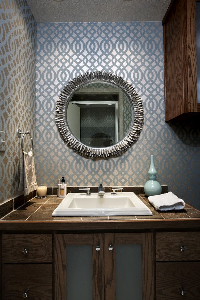 25 Mid Century Bathroom Design Ideas