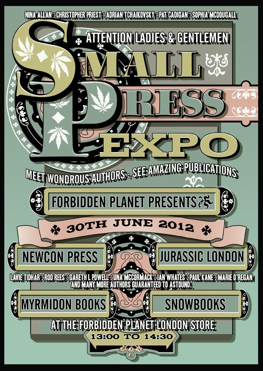 Small Pres Expo Forbidden Planet Small Press Expo