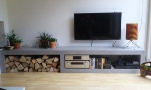 Beton Tv Meubel.Afbeeldingsresultaat Voor Tv Meubel Beton Meubels Ideeen Voor
