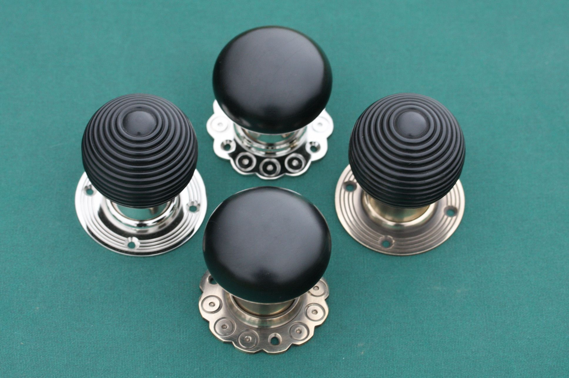 Ebony Door Knobs