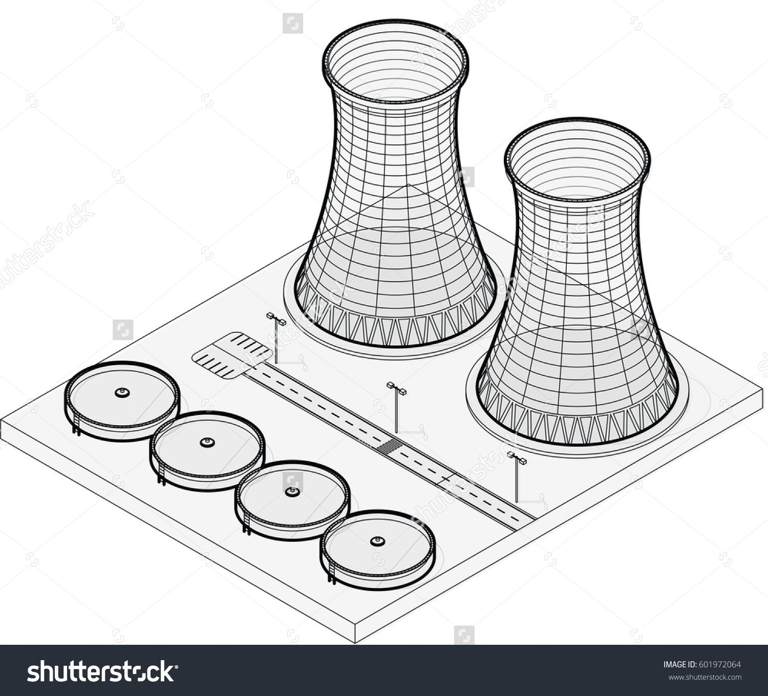 Vector Isometric Cooling System Of Nuclear Power Plant Isolated
