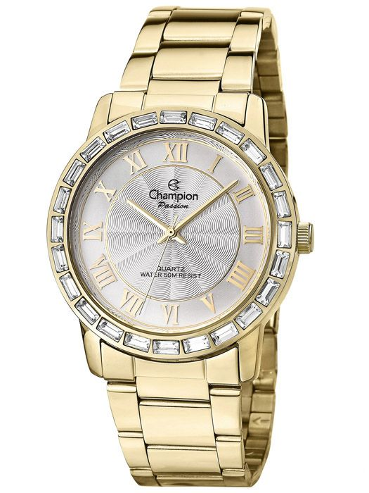 e27c03874e0 Kit Relógio Feminino Champion Passion Cristais CN28857W