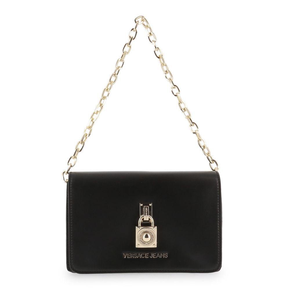 e47a209b9d (eBay link) Versace Jeans Women s Black Shoulder Bag Magnetic Close Chain  Strap  fashion  clothing  shoes  accessories  womensbagshandbags   ...