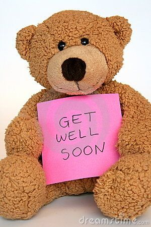 Get well message for baby girl