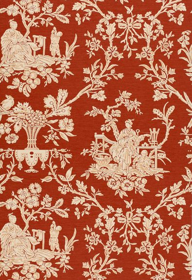 Wallcovering / Wallpaper Cholan Garden in Lacquer