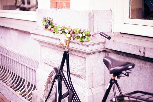 Midsummer night's dream - bike - flowers - summer