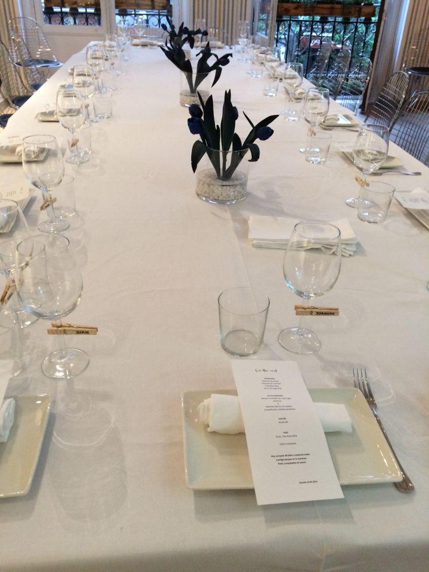 Una de nuestras mesas